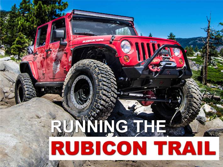 Running the Rubicon Trail - Ten Factory